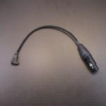 IRISプラグ(RC5204)-XLR4極 変換ケーブル、 2.5mm4極AKバランス-XLR4極 変換ケーブル