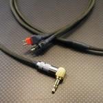 SENNHEISER HD25 Amperior用両出しケーブル Mogami2799 110cm