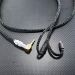 audio-technica ATH-IM70用ケーブル Belden1804A(core) 95cm