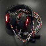 FOSTEX TH900 CIEM2ピンデタッチャブル化、純正ケーブル和柄化改造