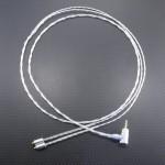 Westone UM Pro30用バランスケーブル オヤイデ4N純銀撚り線ツイスト 100cm