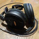 audio-technica ATH-AD2000X 3.5mm3極デタッチャブル化、純正ケーブルに3.5mm3極プラグ取り付け