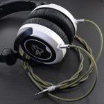 ULTRASONE DJ1PRO, SONY MDR-CD900ST 両出しデタッチャブル化 専用ケーブル製作 Belden1804A リザード