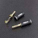 新規部品を追加 4.4mm5極プラグ 2.5mm4極ジャック