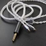 プラグ交換・組み換え等のご依頼例 Crystal Cable Next ニコイチ化、MrSpeakers ETHER アンプ側プラグ交換、Estron linum Music アンプ側プラグ交換、