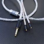 汎用MMCX 4.4mm5極バランスケーブル オヤイデ4N純銀撚り線 16芯編み込み *Numberd