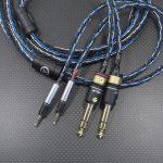 ULTRASONE Tribute7用 ADI-2 Proバランスケーブル AudioCreation PC-Triple-C & オヤイデ 4N純銀撚り線 16芯編み込み