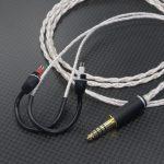SONY MDR-EX1000用ケーブル オヤイデ4N純銀撚り線&PureOCCツイスト 130cm