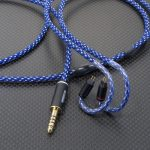 NOBLE Audio K10 Universal用 CIEM2ピン 4.4mm5極バランスケーブル ACROLINK銀メッキ7NOCCツイスト 120cm ナイトスカイ *Numberd