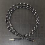 Maxell MXH-MD5000用バランスケーブル Mogami2799 ブラック&メタリック