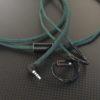Westone UM Pro30用ケーブル ACROLINK 極軟銀メッキ6NOCCツイスト ハンターグリーン