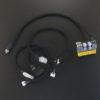 OLIOSPEC picoPSU-160-XT電源ケーブル改修 オヤイデ 3398-16仕様、picoPSU用SATA・ペリフェラル・ATX12V電源ケーブル製作 オヤイデ 3398-22仕様、及びSATAケーブル製作 オヤイデ4N純銀単線仕様
