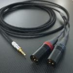Fostex T60RP用ケーブル Mogami2534 250cm ブラック
